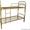 кровати металлические одноярусные для санаториев,  двухъярусные для рабочих,  опт #695571