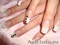 наращивание ногтей гелем на типсах опыт с 2009 года
