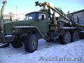Урал лесовоз с манипулятором Синегорец-75