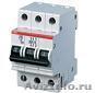 Автоматический выключатель S203 C50A 6kA  ABB