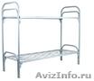 кровати металлические для пансионата,  одноярусные кровати