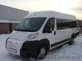 Пассажирские перевозки на микроавтобусе Пежо Боксер класса Люкс (18 мест)