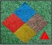 Цветной песок,  Цветной щебень
