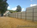 Забор из профлиста,  забор из проф настила,  ворота калитки из проф лист