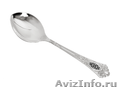 Серебряная ложка десертная