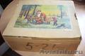 Набор антикварных ёлочных игрушек в фирменной коробке гдр