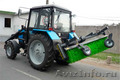 Аренда,  заказ трактора МТЗ с щеткой (трактор-щетка)