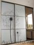 Зеркала для шкафа-купе. Стекло с рисунком для мебели и интерьера.