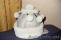 Детская зимняя шапка на девочку 5-8 лет