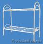 Кровати металлические для казарм,  кровати двухъярусные для студентов