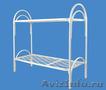 Кровати металлические двухъярусные,  кровати для рабочих,  кровати дёшево