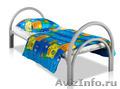 Кровати металлические одноярусные,  для бытовок,  кровати двухъярусные дёшево
