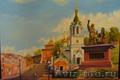 Галерея продаёт картины с видами нижнего новгорода