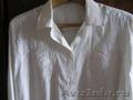 новая блузка из натурального шелка с длинным рукавом