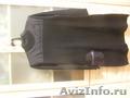 шерстяное трикотажное черное платье (Германия)
