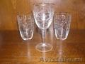 Фужер + 2 стакана Чехословакия