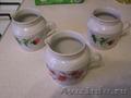 Молочники фарфоровые 3 шт