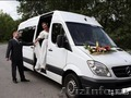 Заказ,  аренда свадебного автобуса мерседес спринтер Vip класса.
