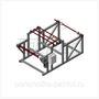 Станок для перемотки рулонных материалов СПРМ-М4-П